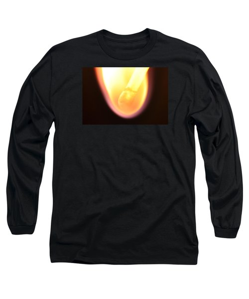 Long Sleeve T-Shirt featuring the photograph Match And Fire by Glenn Gordon
