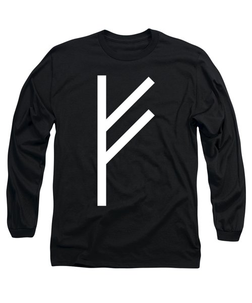 Fehu Rune Long Sleeve T-Shirt