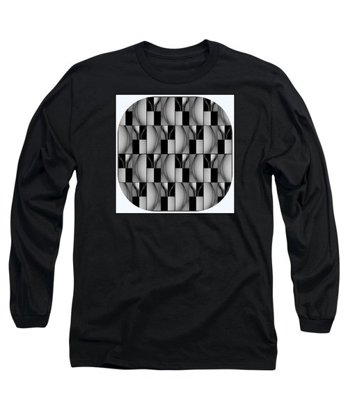 Female Abstraction Image Three Long Sleeve T-Shirt by Jack Dillhunt