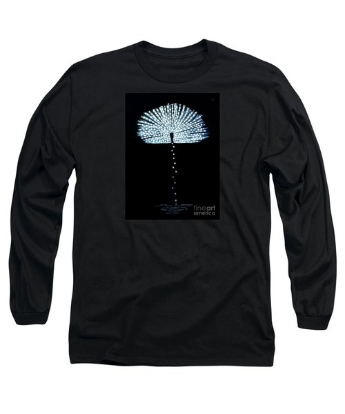 Female Feather Long Sleeve T-Shirt by Fei A