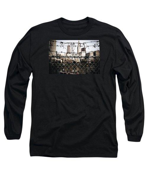 Fenced  Long Sleeve T-Shirt