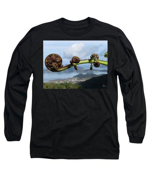 Fern Fiddlehead Long Sleeve T-Shirt