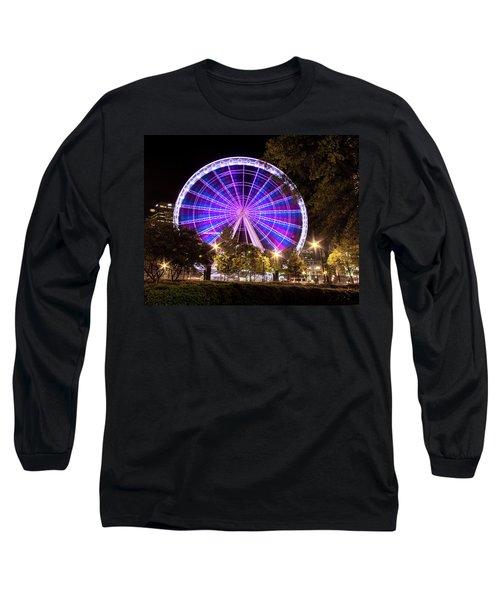 Ferris Wheel At Centennial Park 1 Long Sleeve T-Shirt