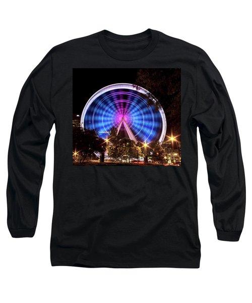 Ferris Wheel At Centennial Park 2 Long Sleeve T-Shirt
