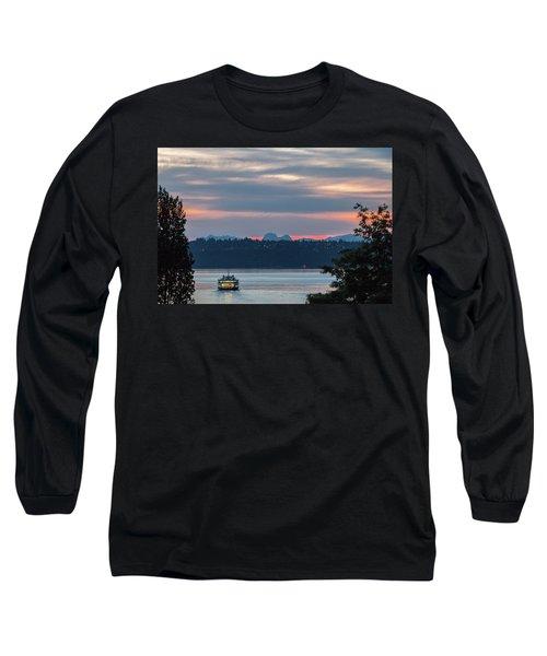 Ferry Tillikum At Dawn Long Sleeve T-Shirt