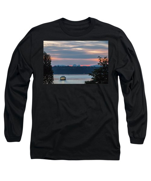 Ferry Tillikum At Dawn Long Sleeve T-Shirt