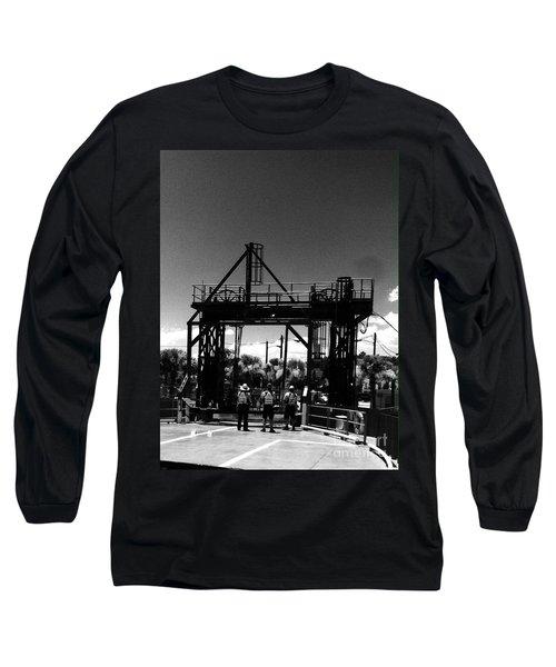Ferry Workers Long Sleeve T-Shirt by WaLdEmAr BoRrErO
