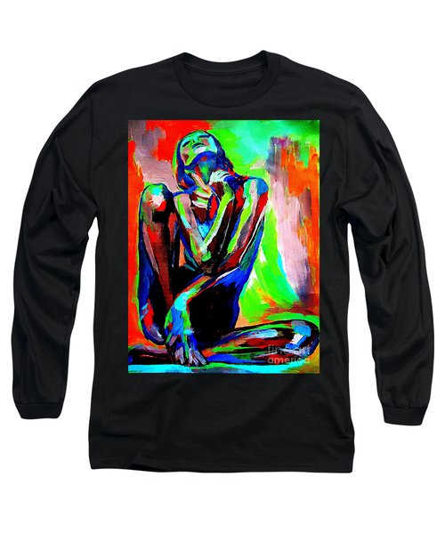 Fervidly Long Sleeve T-Shirt by Helena Wierzbicki