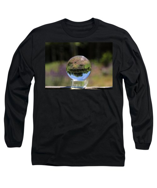 Field In A Crystal Ball Long Sleeve T-Shirt