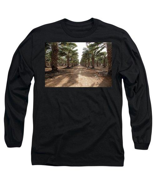 Date Grove #3 Long Sleeve T-Shirt by Yoel Koskas