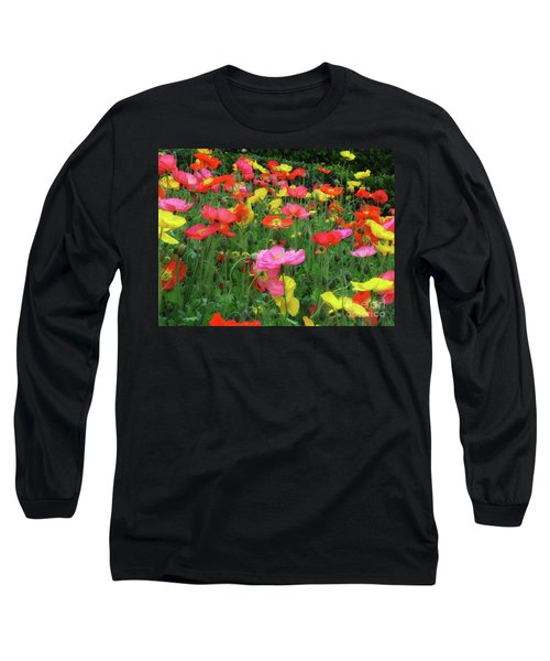 Field Of Poppies Long Sleeve T-Shirt