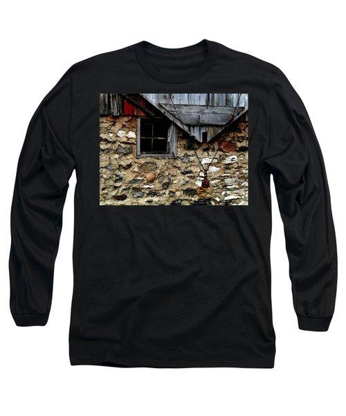 Field Stone Barn Long Sleeve T-Shirt
