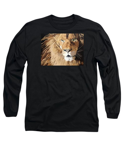 Fierce Protector Long Sleeve T-Shirt by Nathan Rhoads