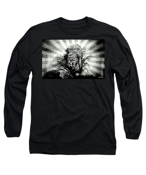 Fifty Cents For Your Soul Long Sleeve T-Shirt by Paulo Zerbato
