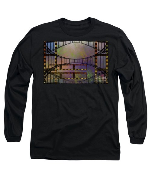 Long Sleeve T-Shirt featuring the mixed media Film Is Dead by Jim  Hatch