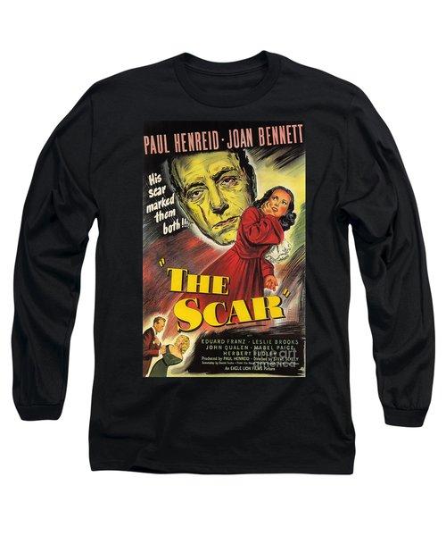 Film Noir Poster  The Scar Long Sleeve T-Shirt