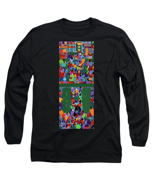 We The People Diptych Long Sleeve T-Shirt