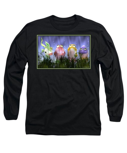 Finding Nemo Figurine Characters Long Sleeve T-Shirt by Brian Wallace