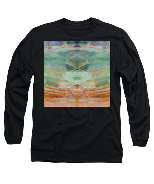 Finding Peace Long Sleeve T-Shirt by Ann Tracy