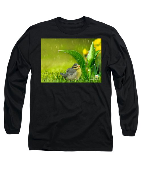 Finding Shelter Long Sleeve T-Shirt by Morag Bates