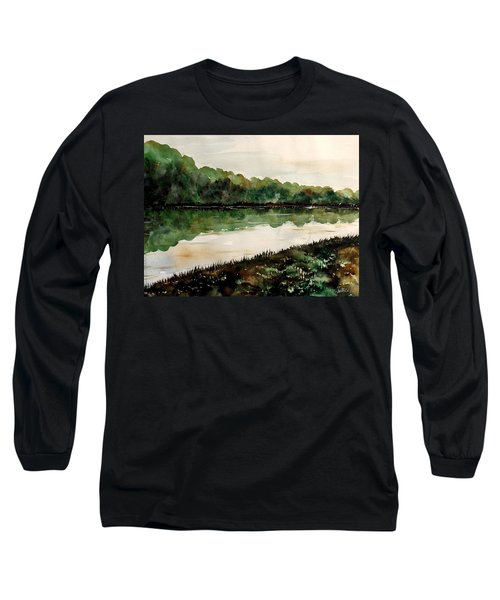 Finding The Place To Cross Long Sleeve T-Shirt