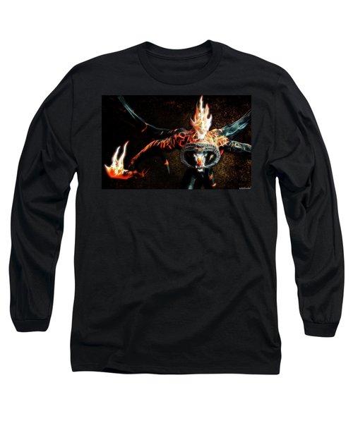 Fire Balrog Long Sleeve T-Shirt