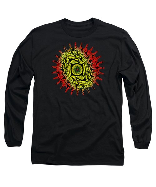 Fire Dragon Eye Long Sleeve T-Shirt