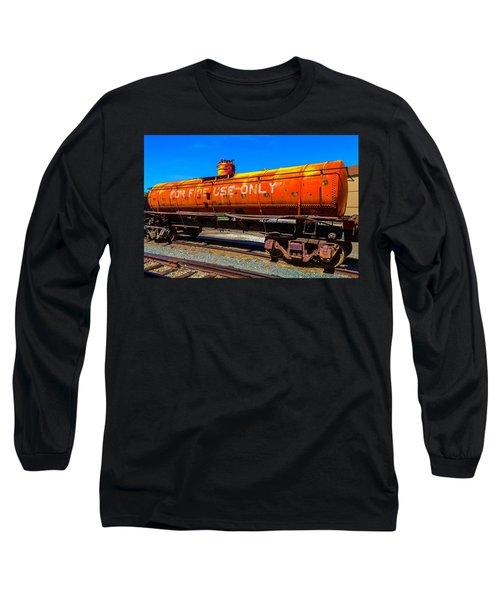 Fire Fighting Tanker Long Sleeve T-Shirt