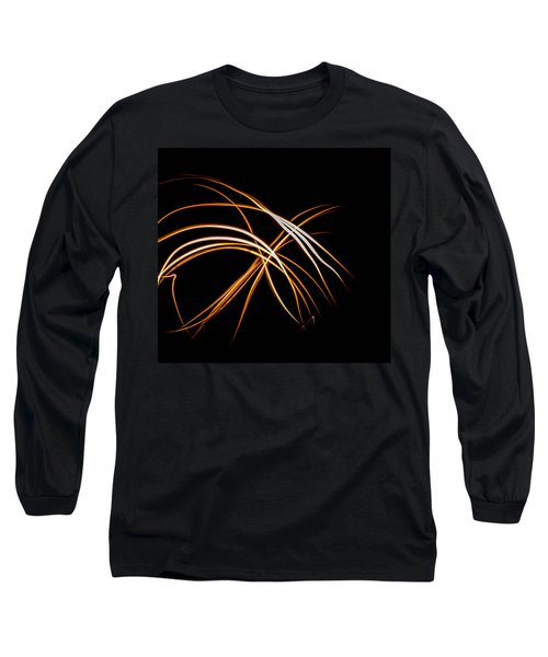 Fire Forks Long Sleeve T-Shirt by Bruce Pritchett
