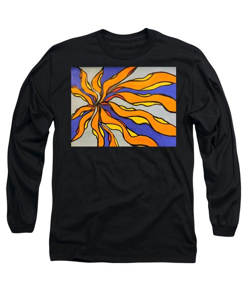 Fire, Ice, And Water Long Sleeve T-Shirt