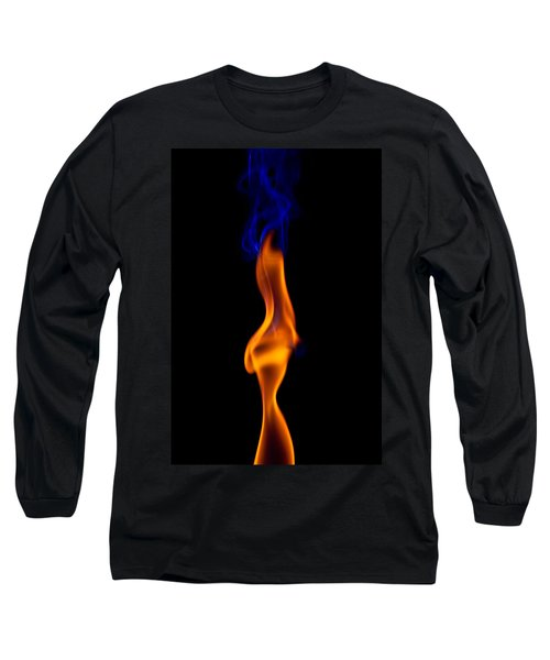 Long Sleeve T-Shirt featuring the photograph Fire Lady by Gert Lavsen