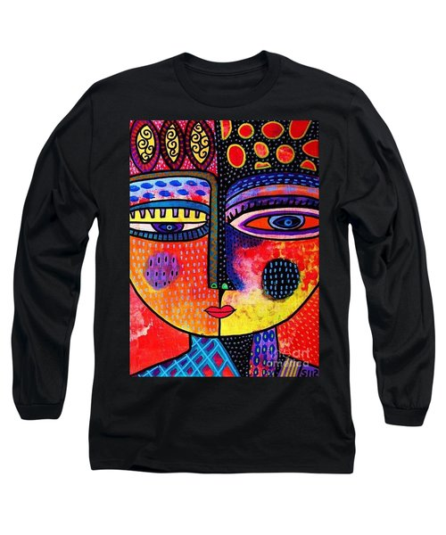 Fire Volcano Goddess Long Sleeve T-Shirt