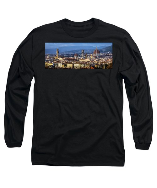Long Sleeve T-Shirt featuring the photograph Firenze by Sonny Marcyan