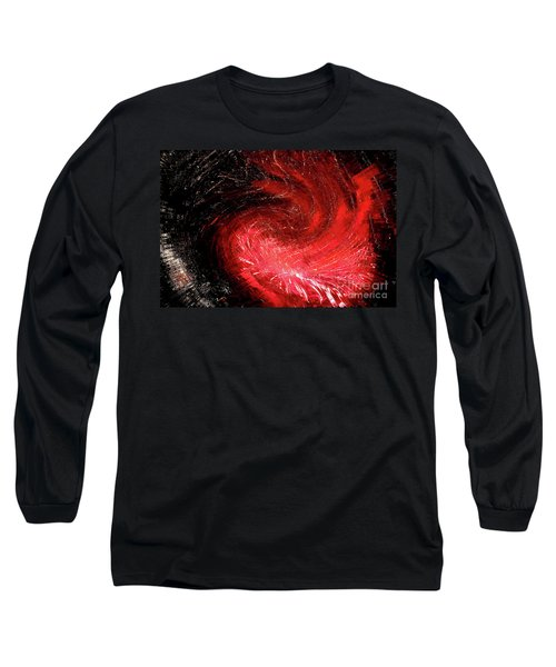 Firestorm Long Sleeve T-Shirt by Sheila Ping