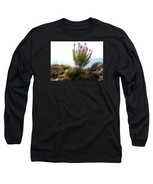 Fireweed Epilobium Angustifolium Long Sleeve T-Shirt