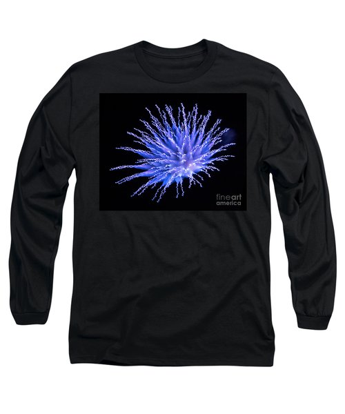 Firework Blue Long Sleeve T-Shirt
