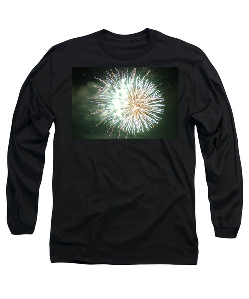 Fireworks In The Park 4 Long Sleeve T-Shirt