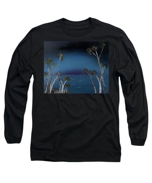 Fireworks Palms Long Sleeve T-Shirt