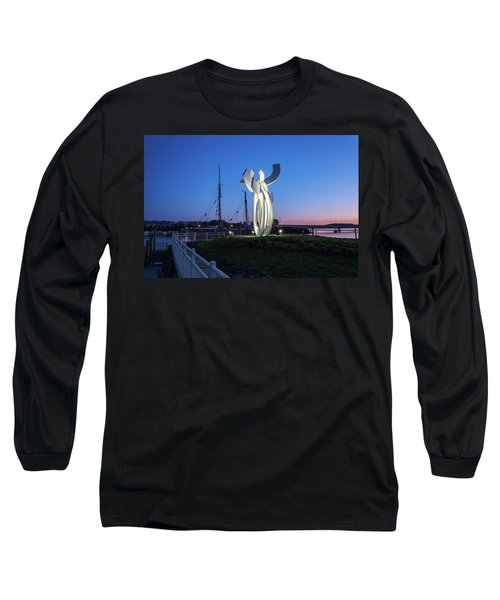 First Light At The Waterfront Long Sleeve T-Shirt