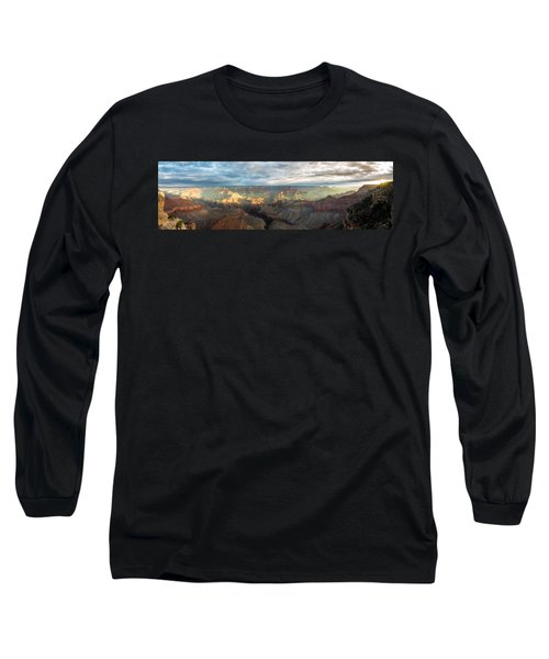 First Light In The Canyon Long Sleeve T-Shirt
