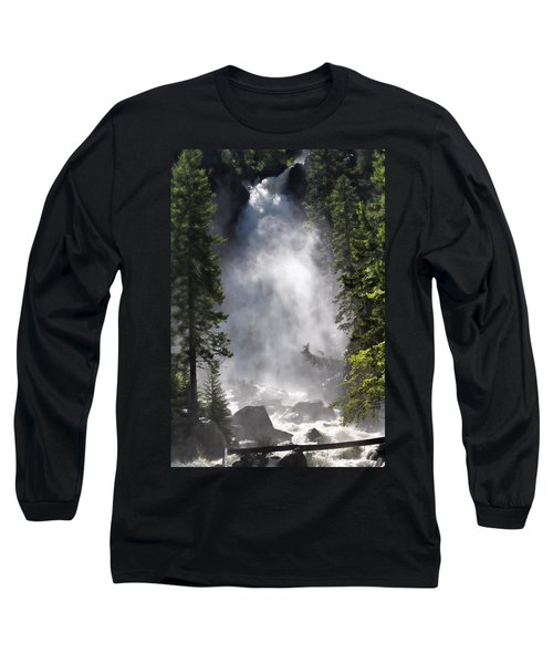 Fish Creek Falls Long Sleeve T-Shirt