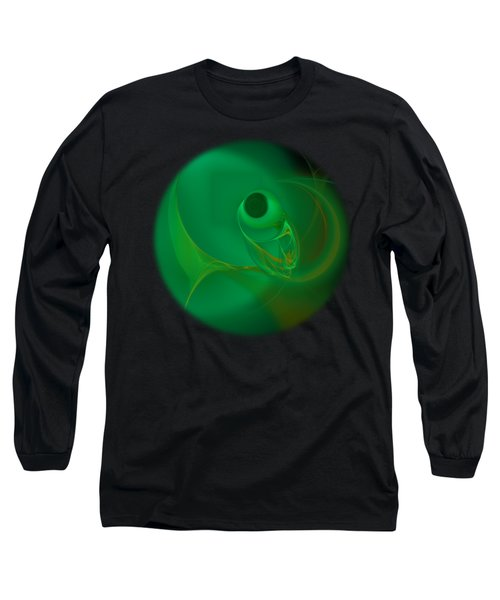 Long Sleeve T-Shirt featuring the digital art Fish Eye by Victoria Harrington