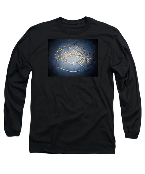Fish Head Long Sleeve T-Shirt