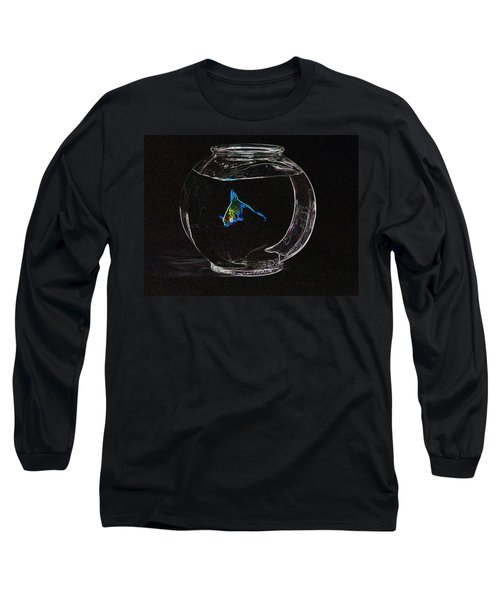Fishbowl Long Sleeve T-Shirt by Tim Allen