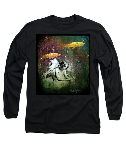 Fishes Wings Long Sleeve T-Shirt
