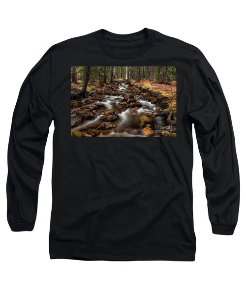 Fishhook Creek Waterscape Art By Kaylyn Franks Long Sleeve T-Shirt