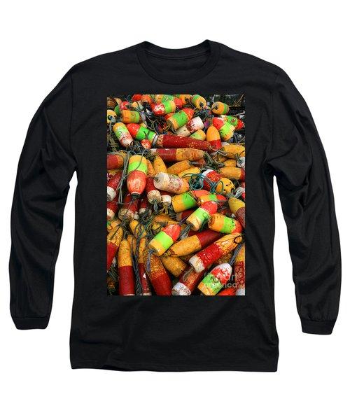 Fishing Buoys Long Sleeve T-Shirt