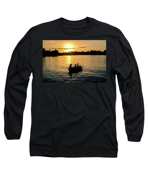 Fishing In Auckland Long Sleeve T-Shirt