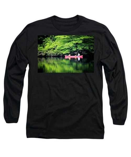 Long Sleeve T-Shirt featuring the photograph Fishing On Shady by Lana Trussell