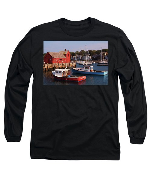 Long Sleeve T-Shirt featuring the photograph Fishing Shack by John Scates